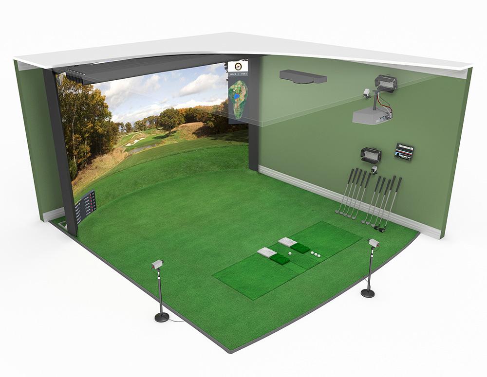 High Definition Golf Simulator Model